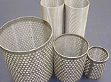 304 Perforated Filter Tubes Single Layer Or Multi Layer Forms