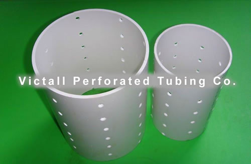 Perforated And Slotted Pvc For Water Filters And Drainage